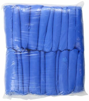 Groom Industries Blue Disposable Shoe Covers 100 Count