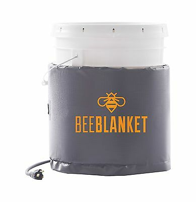 Powerblanket BB05 Bee Blanket 5 Gal Pail Heater Honey/Bucket 120W 120V