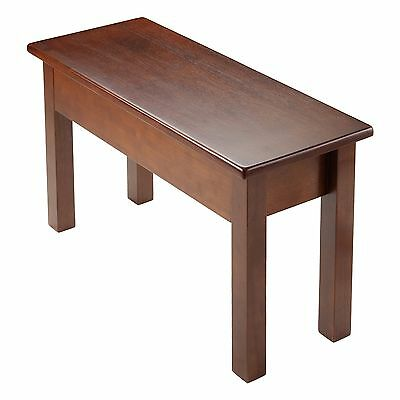Winsome Wood Emmett Bench with Seat Storage Brown