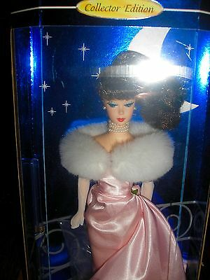 NRFB 1995 Collector Edition ENCHANTED EVENING 1960 Reproduction Brunette Barbie