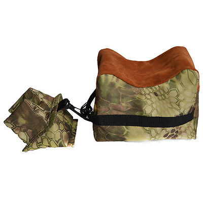 Cool Rifle/Air Gun Front and Rear Rest Bench Sand Bag for Hunting Shooting Set