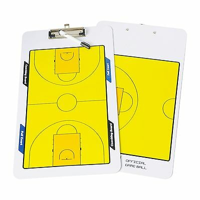 SPEED TRACK Double Erasable Sided Erase Play Board for Coaching Basketball Ta...