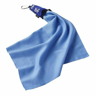 Lewis N. Clark Campack Medium Towel Blue One Size