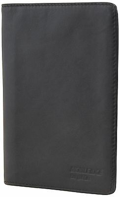 Mobile Edge MEWSS-PW I.D. Sentry Wallet Passport (Black) Black