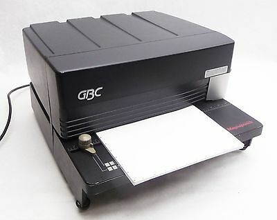 GBC Magnapunch High Capacity Binding Paper Plastic Hole Punch+VB VeloBind Die