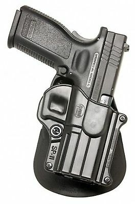 Fobus Standard Holster Left Hand Paddle SP11LH Springfield Armory XD/XDM/HS 2...