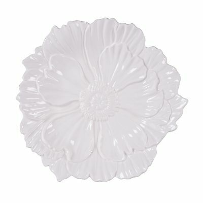 Savannah Collection Canape Plate - White