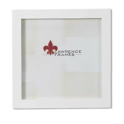 Lawrence Frames White Wood Picture Frame Gallery Collection 5 by 5-Inch
