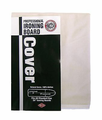 Ritz 80500 Professional Treated Natural Cotton Ironing Board Cover with Draws...