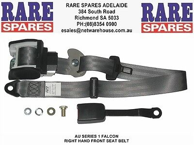 Ford AU Falcon Series 1 Front Drivers Seat Belt Rare Spares Adelaide