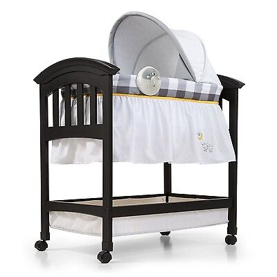 Summer Infant Classic Comfort Wood Bassinet Buffalo Check