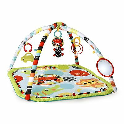 BRIGHT STARTS Roaming Safari Activity Gym Multi-Color Kaleidoscope Safari