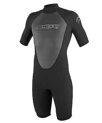 O'Neill Wetsuits Mens 2mm Reactor Spring Suit Black Small