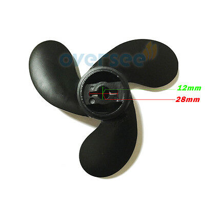 309-64107-0 Propeller 3x7.4x5.7 for Nissan Tohatsu 2.5HP 3.5HP Outboard Part