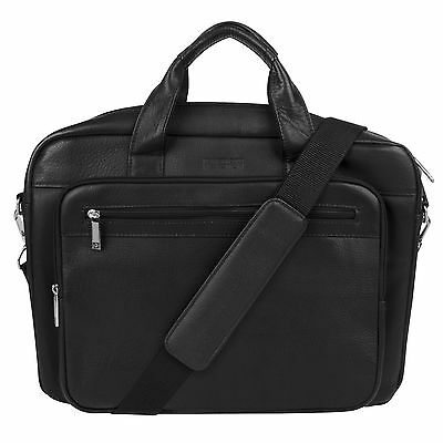 Kenneth Cole Single Gusset Top Zip Computer Case 3.5-Inch Black United States...