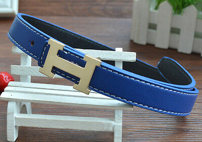 Fashion Casual Children Faux Leather Adjustable Belts  for boys girls