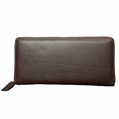 Canyon Outback Leather Marydale Canyon Zip Wallet-Brown Brown One Size