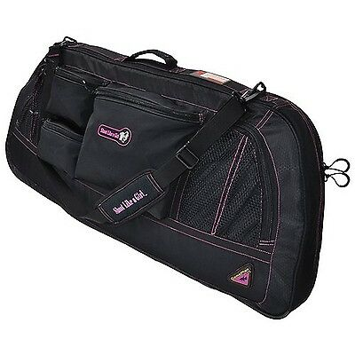 Game Plan Gear Shoot Like A Girl Bow Case 40-Inch Black/Magenta