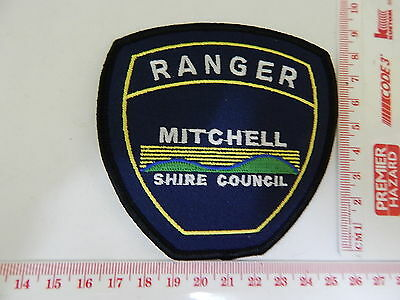 Mitchell Shire Council Victoria Ranger Patch