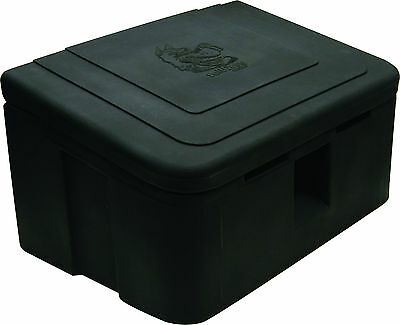 Buyers Products 8.8 Cubic Foot Poly Snow and Ice Salt/Ice-Melt Box