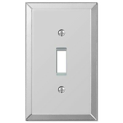 Amerelle 66T Clear 1 Toggle Wallplate Mirror Finish