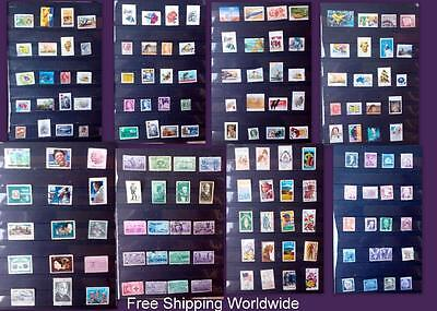 Postage Stamp Collection From Australia & United States Free World Shipping