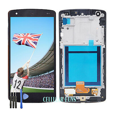 Black For LG Google Nexus 5 D820 D821 LCD Touch Screen Display Replacement Frame
