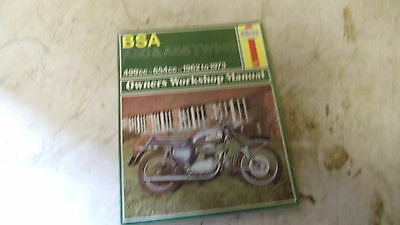 Bsa A 50 And 65 Workshop Manual