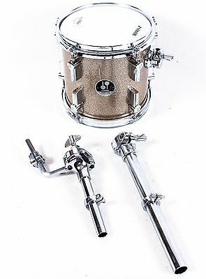 """Sonor Martini Special Edition Tom Drum 8 x 8 Champagne Galaxy Sparkle, NEW"