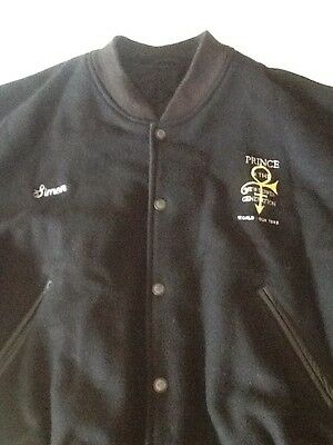 Prince World Tour Jacket / Crew Jacket | World Tour 1992 | Memorabilia  RARE!!!!