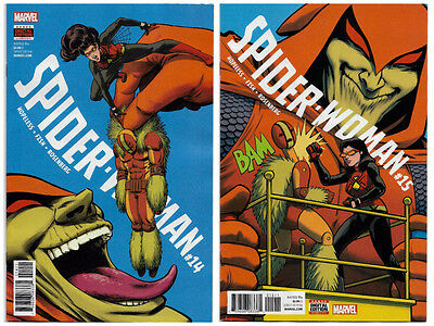 Spider-Woman Issues #14 & #15 & Latest Previews - Marvel Comics. Avengers.