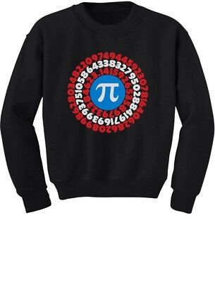 Pi Day Superhero - Captain Pi Gift For Math Geeks Youth Kids Sweatshirt