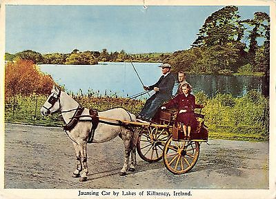 BR68153 jaunting car by lakes of killarney chariot types folklore ireland