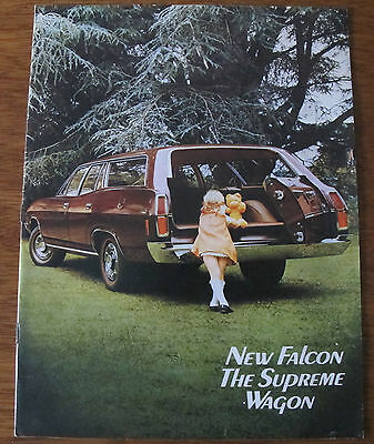 1972 Xa Falcon Station Wagon Brochure