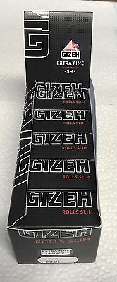 Gizeh Black Extra Fine ROLLS SLIM 10er Packung Papers Zigarettenpapier  50079