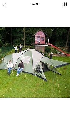 Large Family Tent With 3 Bedrooms( 8 Man Tent)