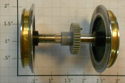 LGB 1000-2 G Scale Wheel & Axle Set  without Drive Bands