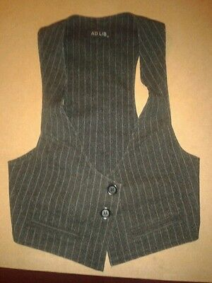 Used Womans Waistcoat, By Ad Lib Size 8