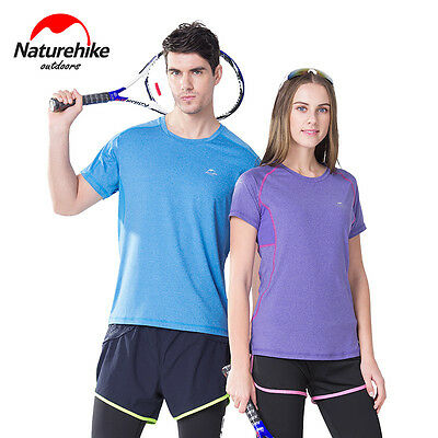 Naturehike Unisex  Summer Outdoor Sport T-shirt Quick-drying Breathable Shirt
