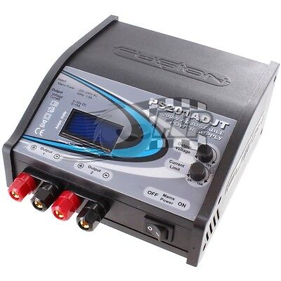 Fusion PS201ADJT 200W 15.0V Twin Output Adjustable Power Supply O-FS-PS2