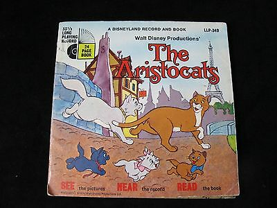 """Disney - The Aristocats - 7"""" Single Vinyl with 24 Page Book"""