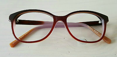 Specsavers Bacall Purple/Brown Fade Glasses Frames - New