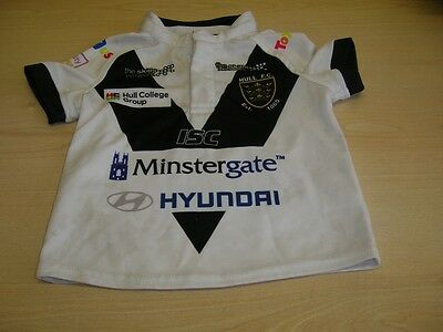 """Hull FC child's rugby shirt size 1. Chest 24""""  Length 14,5"""""""