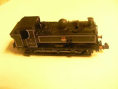 Dapol N Gauge 2S-007-018 Pannier 8763BR Lined Black Early Crest