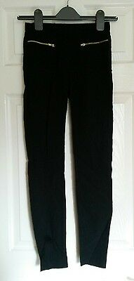 Girls, Ladies, black trousers, size 4, age 10-11?, By New Look