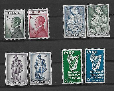 1953-56        Mnh       Eight Commemoratives