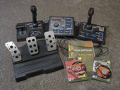 Steel Battalion Controller, Xbox Game + Line of Contact (no reserve)