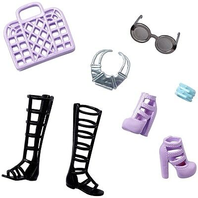 NEW fashionistas add ons e doll Barbie® Accessory Pack stylin sandals