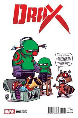 DRAX #1 SKOTTIE YOUNG VARIANT (Marvel 2015 1st Print) COMIC
