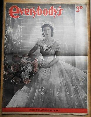 Everybody's magazine 1948 with stunning Princess Margaret cover